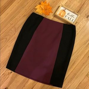 🌺 NEW!! HALOGEN Colorblock Pencil Skirt, NWOT